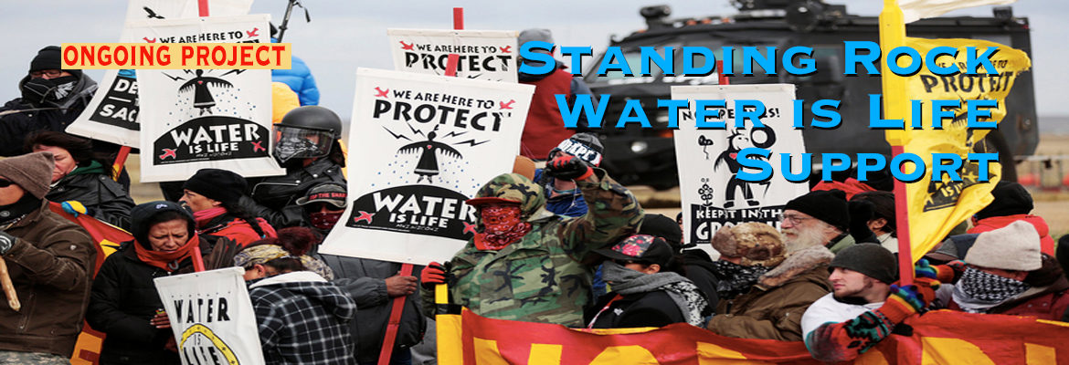 Standing Rock Water Is Life Activist Support